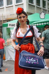 Betty BBQ beim CSD in Stutgart 2014 (Copyright Schwule Welle)