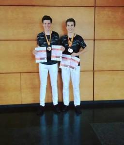 Frederic und Bastian Gewinner Discofox 2016