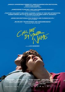 Call Me By Your name Plakat