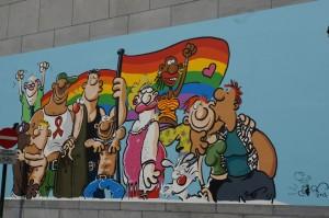 Brüssel: Graffito
