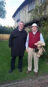 Hartmut von der Schwulen Welle zusammen mit Brian D. Barnes