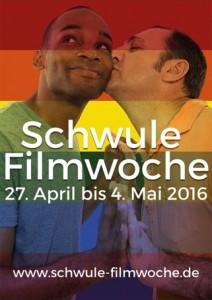 Schwule Filmwoche Plakat 2016