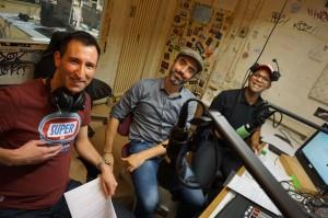 Alex, Elias und Jazzmin von gayRadio