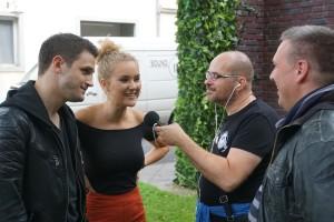 Arne Rudolf und Pauline Angert im Interview