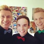 Simon, Johannes und Matthias = ein Trärchen