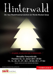 Mondo Musical Group Hinterwald plakat