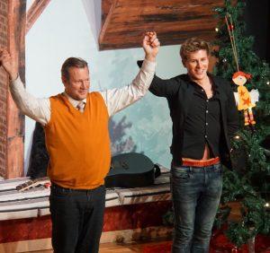 Lukas Sauer (re.) und Hanno Friedrich (li.) im Stück Männerparadies