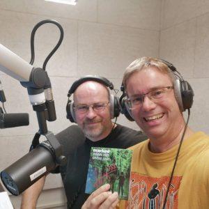 Alex & Dieter im Studio mit Mark Ed CDs