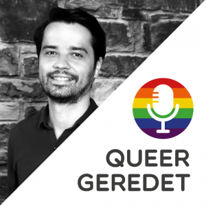 Queergeredet Podcast Lars Logo